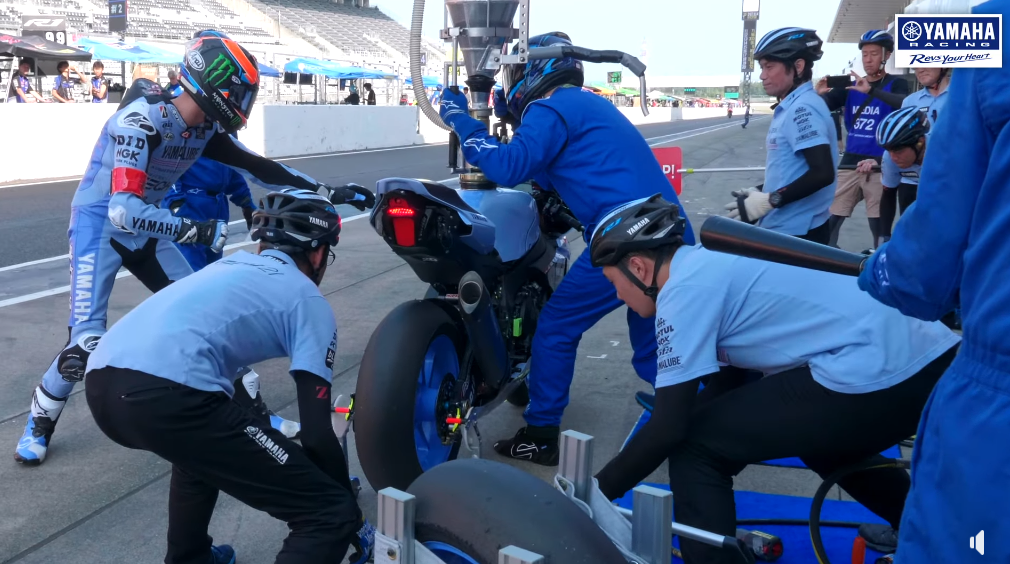 まいける復活!Yamaha Factory Racing Team Pit Stop Practice